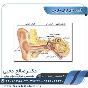 آسیب های گوش خارجی